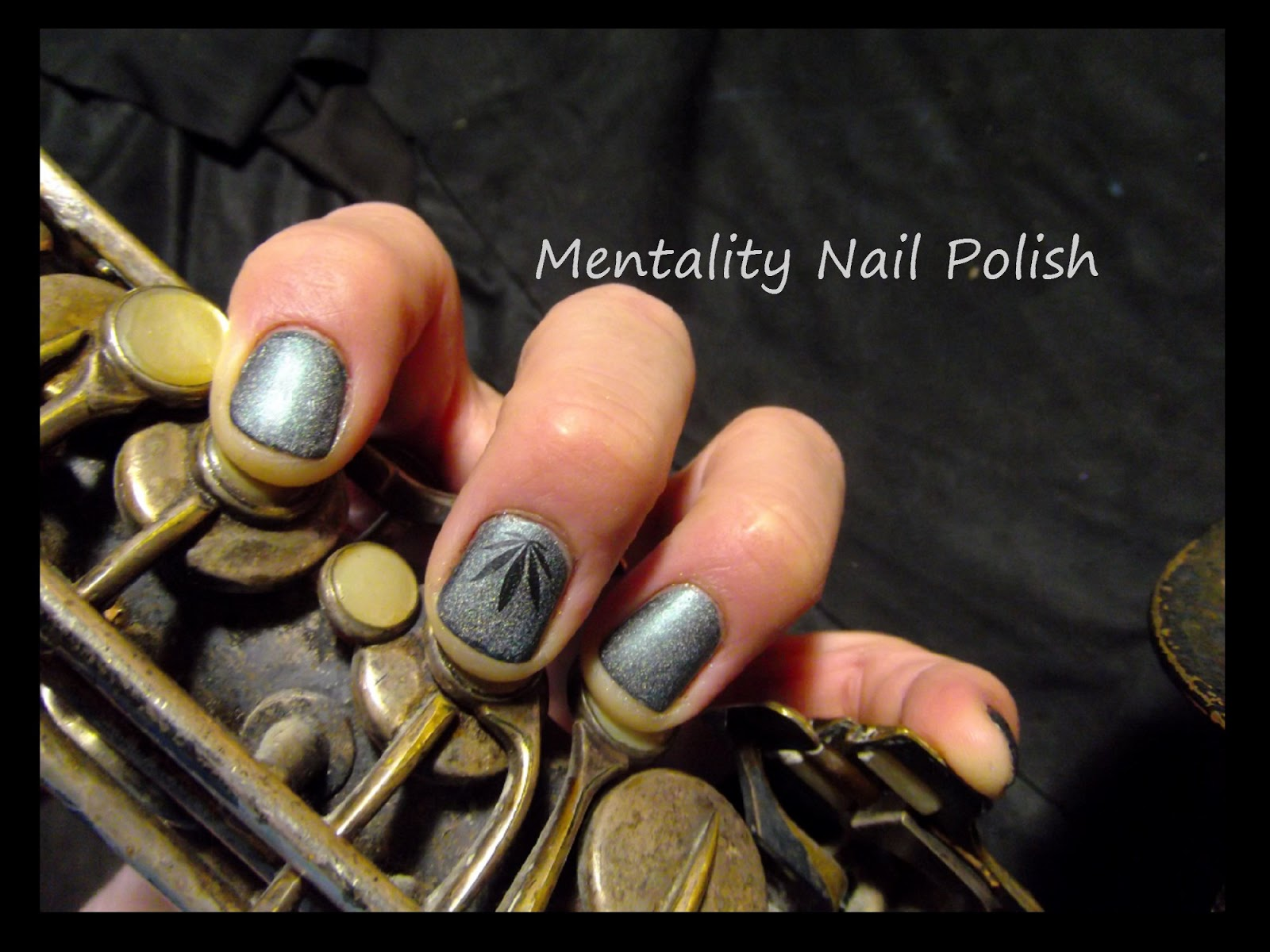 Mentality nail polish nail art male hands i polished it once to a bright silver and immediately missed the patina that had built up over so many years i have not deep cleaned it again and love the prinsesfo Image collections