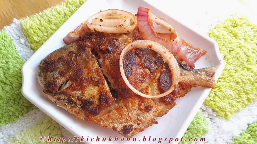 Masala pomfret spicy recipe