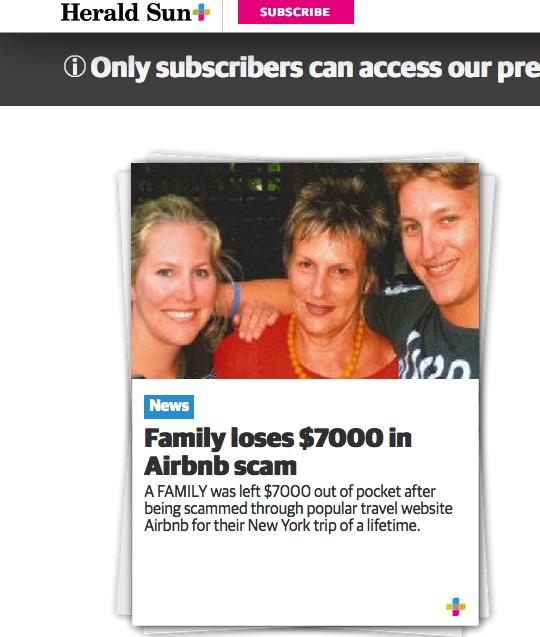 Petite Paris Family Loses 7000 In Airbnb Scam Our