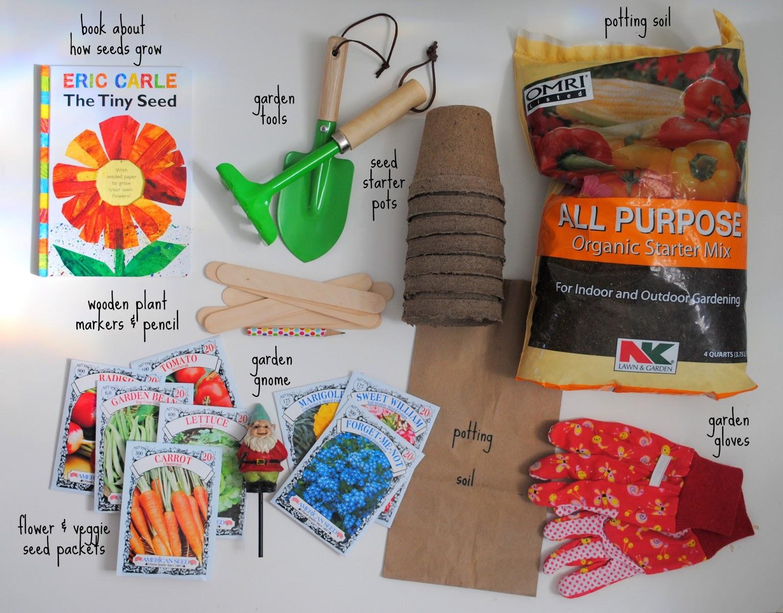 Gifting A Diy Gardening Kit For Kids
