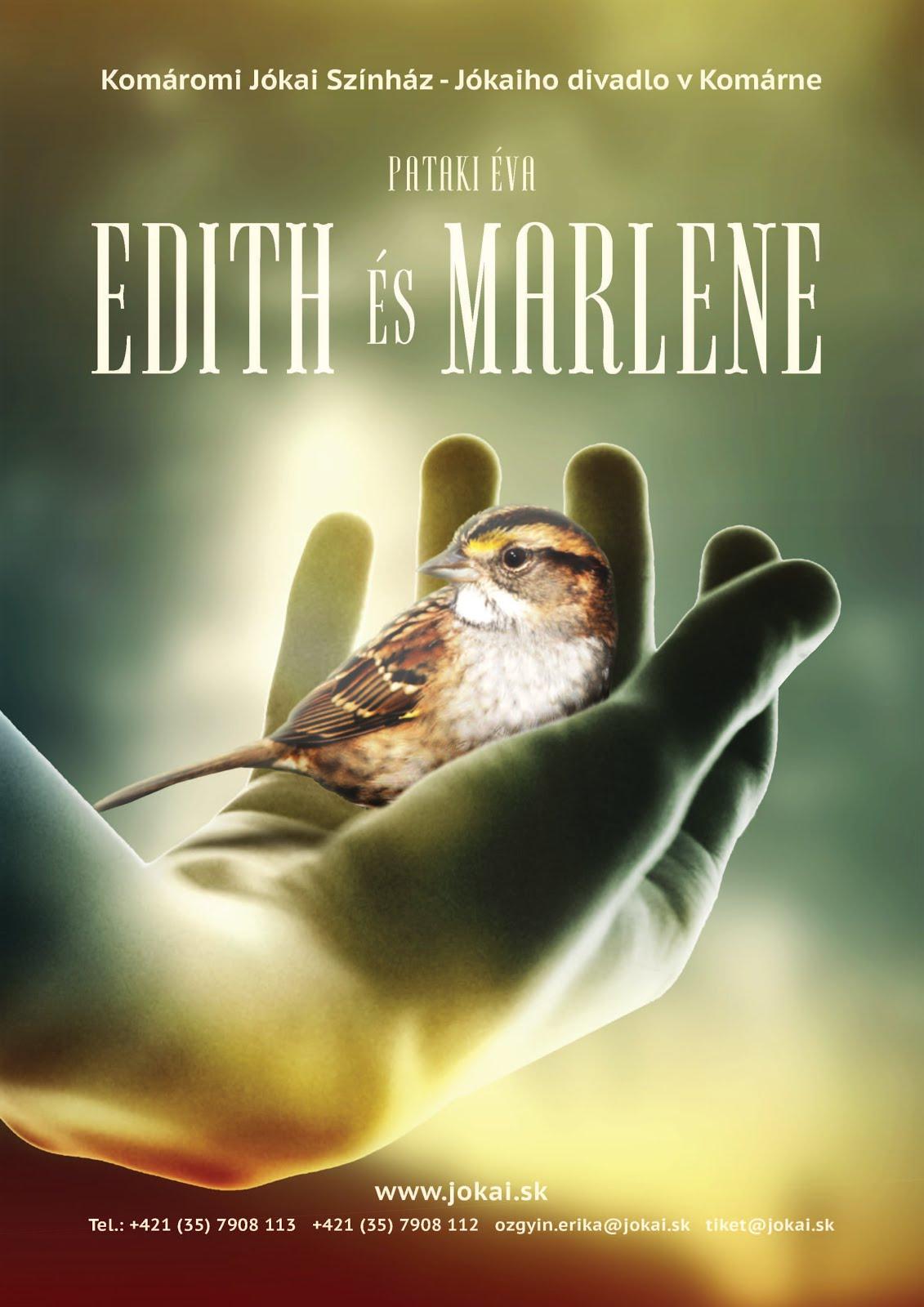 EDITH ÉS MARLENE - színházi előadás
