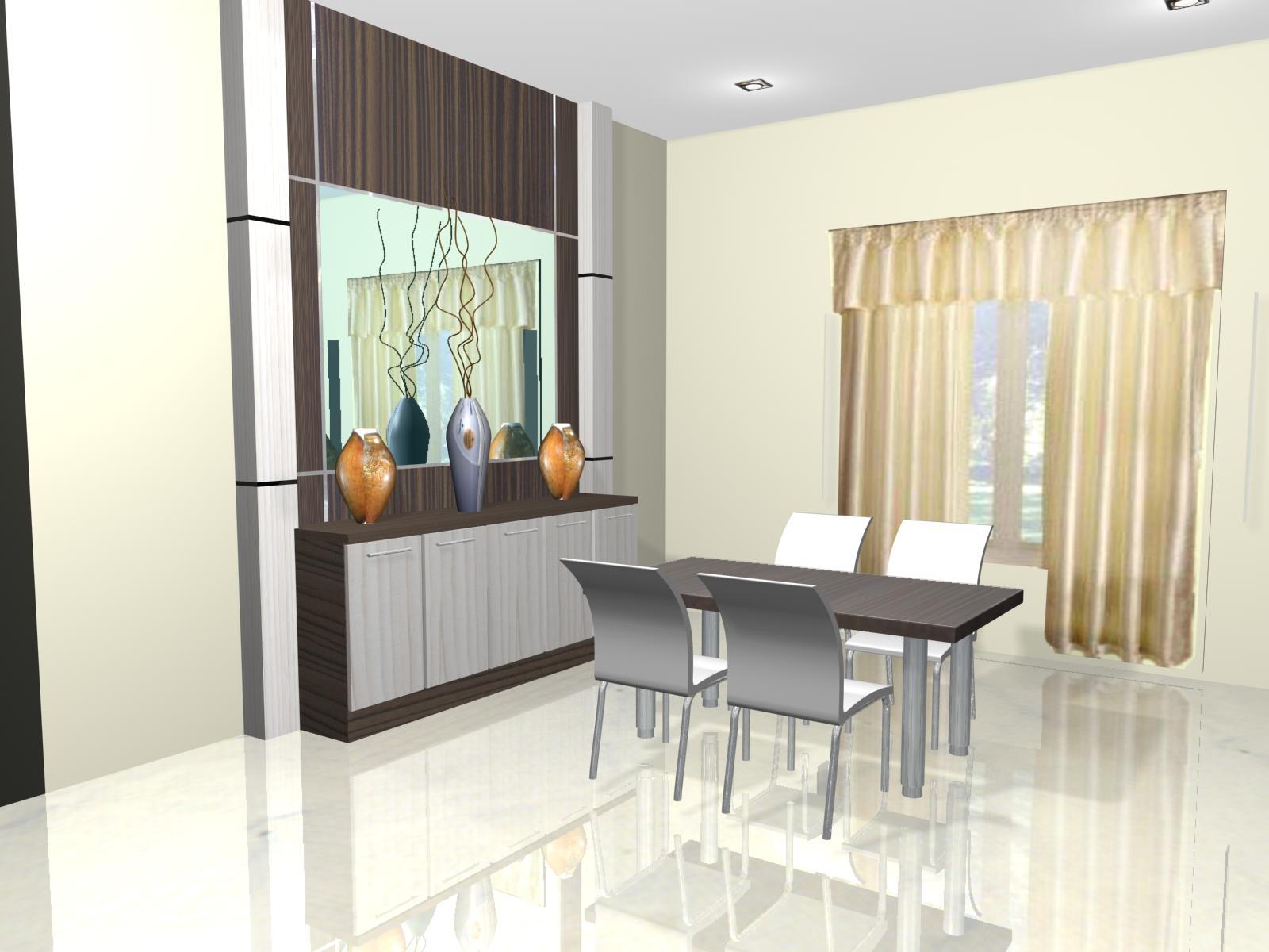 Sweet Interior Desain Kitchen Set Kamar Tidur Dan Meja