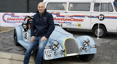 Star Trek Actor Sir Patrick Stewart To Compete in Silverstone Classic Race
