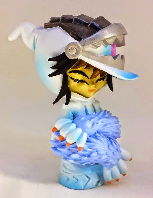 Black Friday Exclusive Polar Opposite Frost Resin Figure by Erick Scarecrow