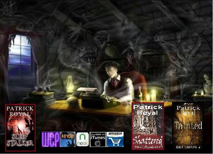 Horror Author Patrick Royal
