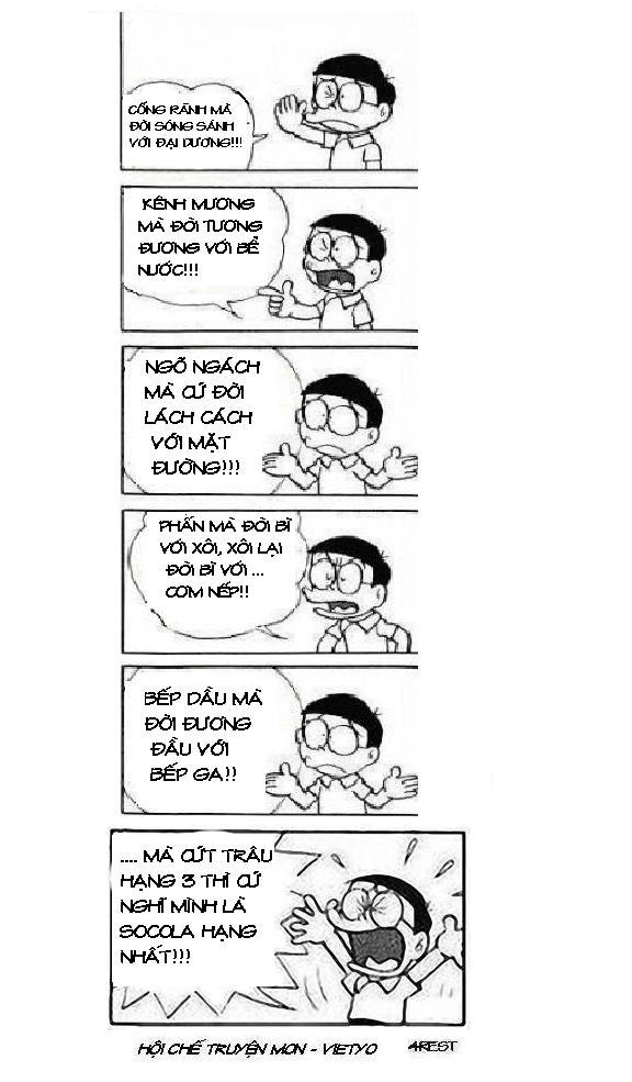 những câu nói bất hủ của Doremon chế