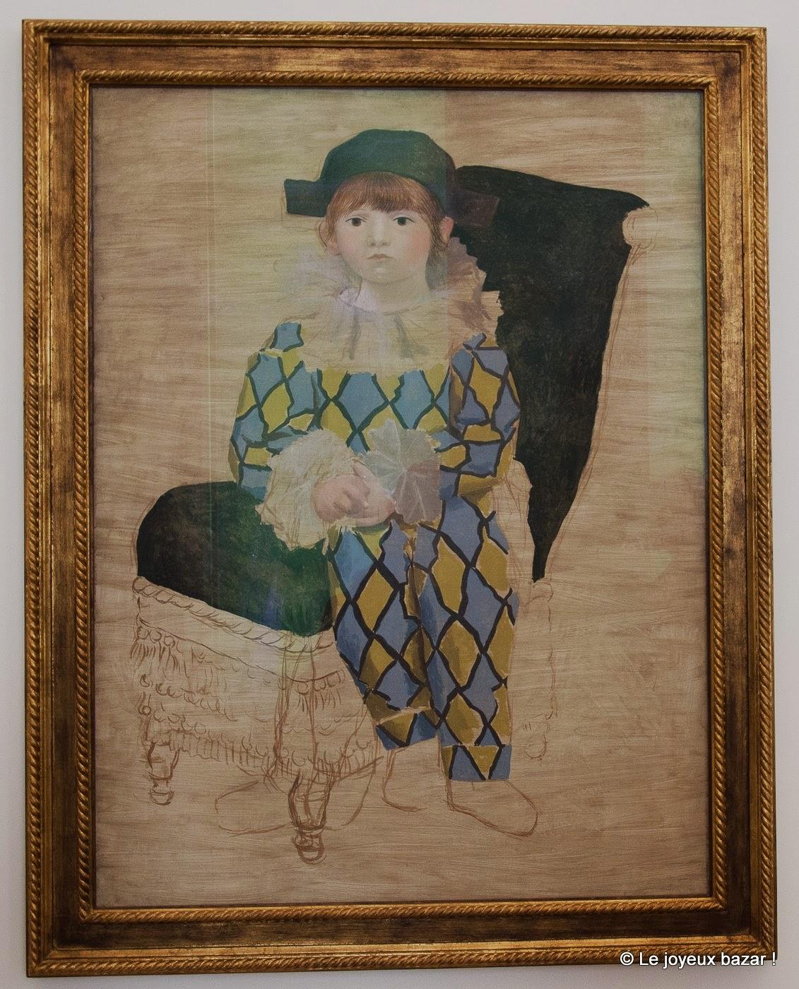 Musee Picasso - Paris - Paulo en Arlequin