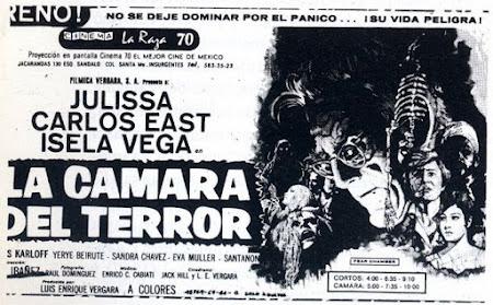 La cámara del terror 1968