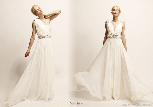 Roman style wedding dress reference wedding decoration for Toga style wedding dress