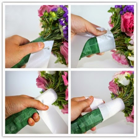 Как сделать свадебные букеты мастер класс - Свадебный букет своими руками