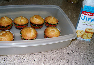 Jiffy apple cinnamon muffins