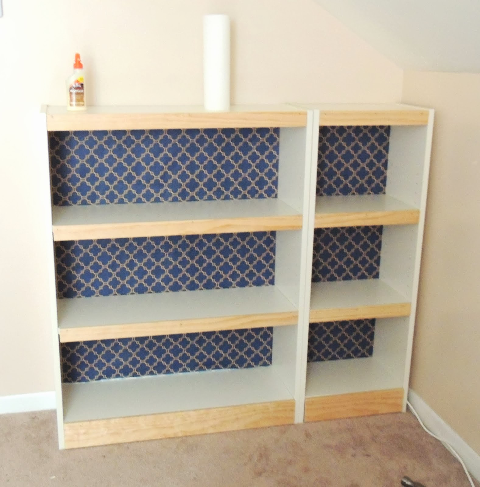 billy bookcase face lift ikea hackers ikea hackers. Black Bedroom Furniture Sets. Home Design Ideas