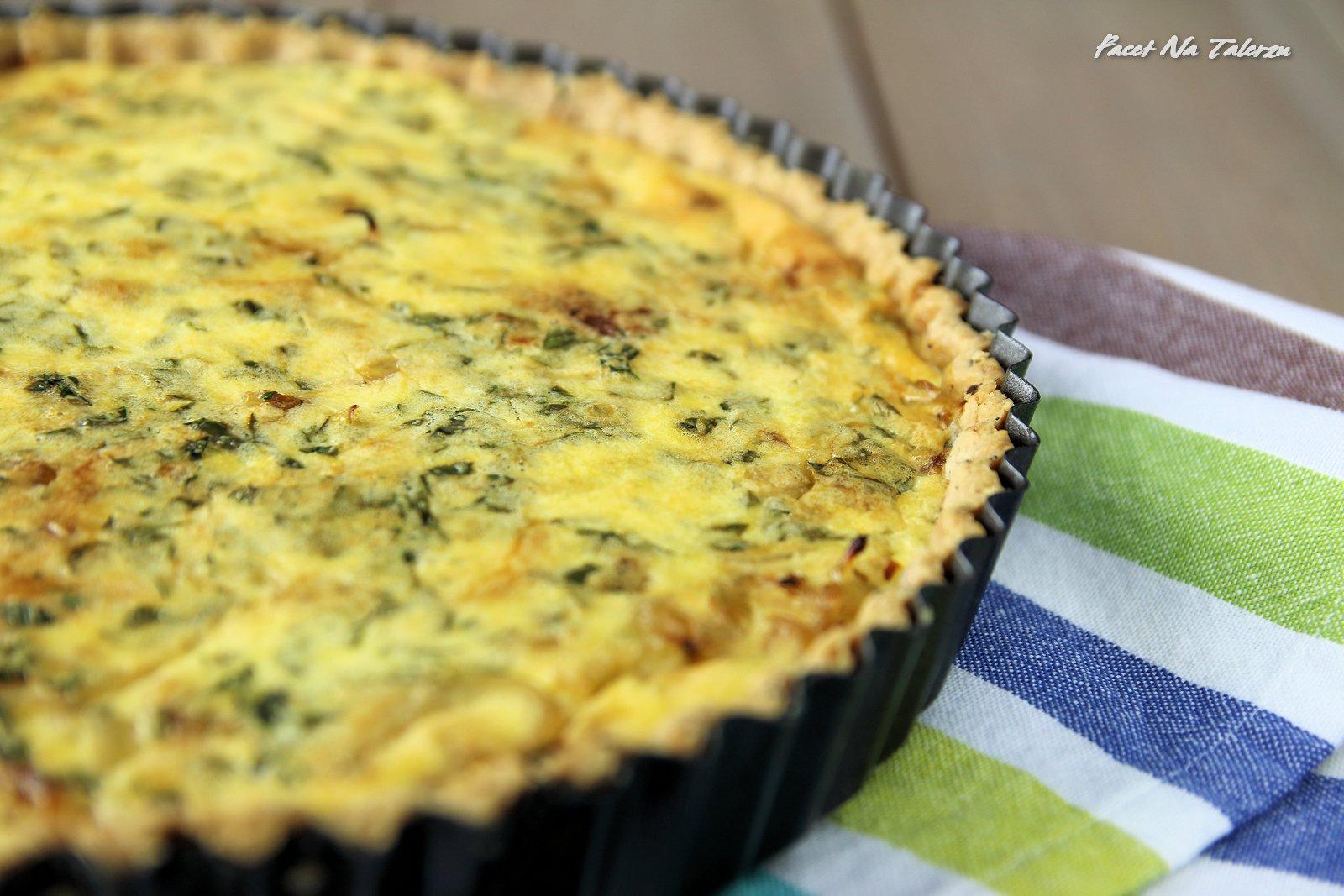 Ciasto cebulowe - Allgäuer Zwiebelkuchen