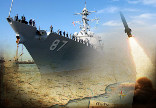 A US DESTROYER ATTACKED BY RUSSIA FROM YEMEN ?