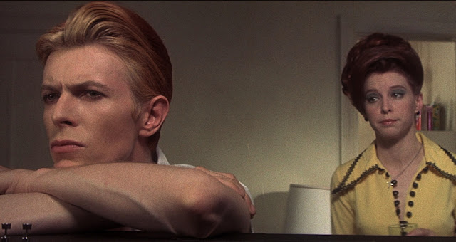 david bowie candy clark the man who fell to earth