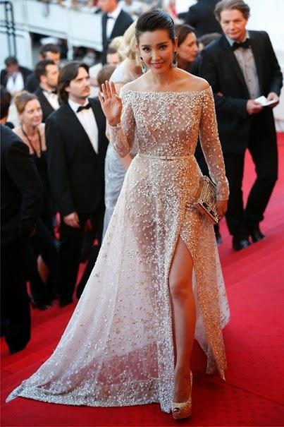 68º Festival Cannes 2015 - Li Bingbing - Elie saab couture