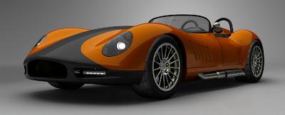 Mobil Sport Body Super Ringan