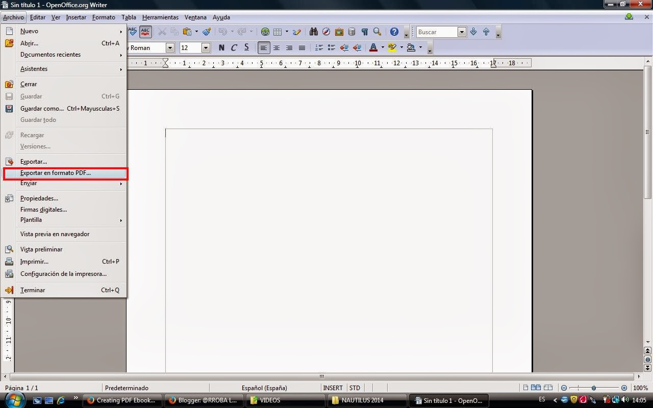 Convertir pdf en openoffice writer - Open office writer gratuit ...