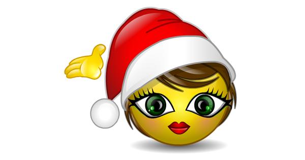Merry Christmas - Talking Smiley | Symbols & Emoticons