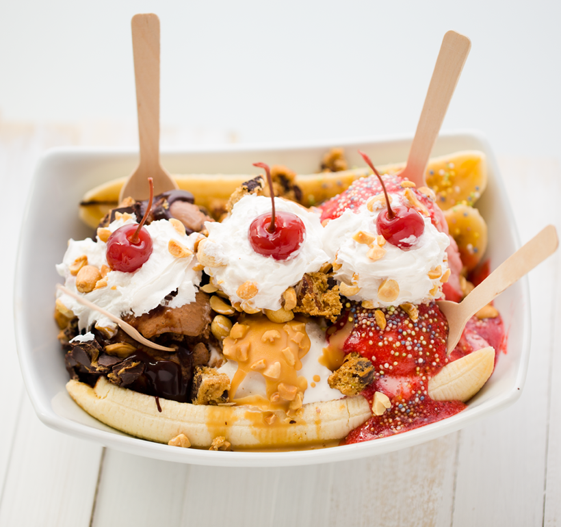 National Banana Split Day Recipe — Dishmaps
