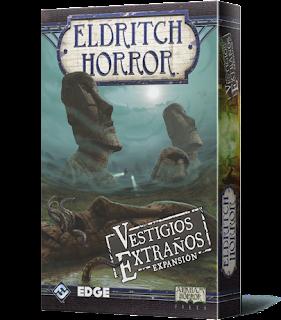 Eldritch Horror: Vestigios Extraños expansión