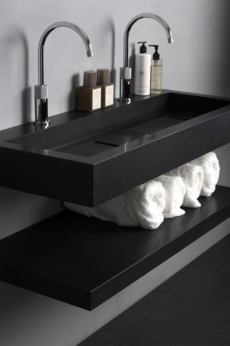 Lavabos Para Baño Modernos:Modernos Diseños de Lavabos de Baño : Baños y Muebles