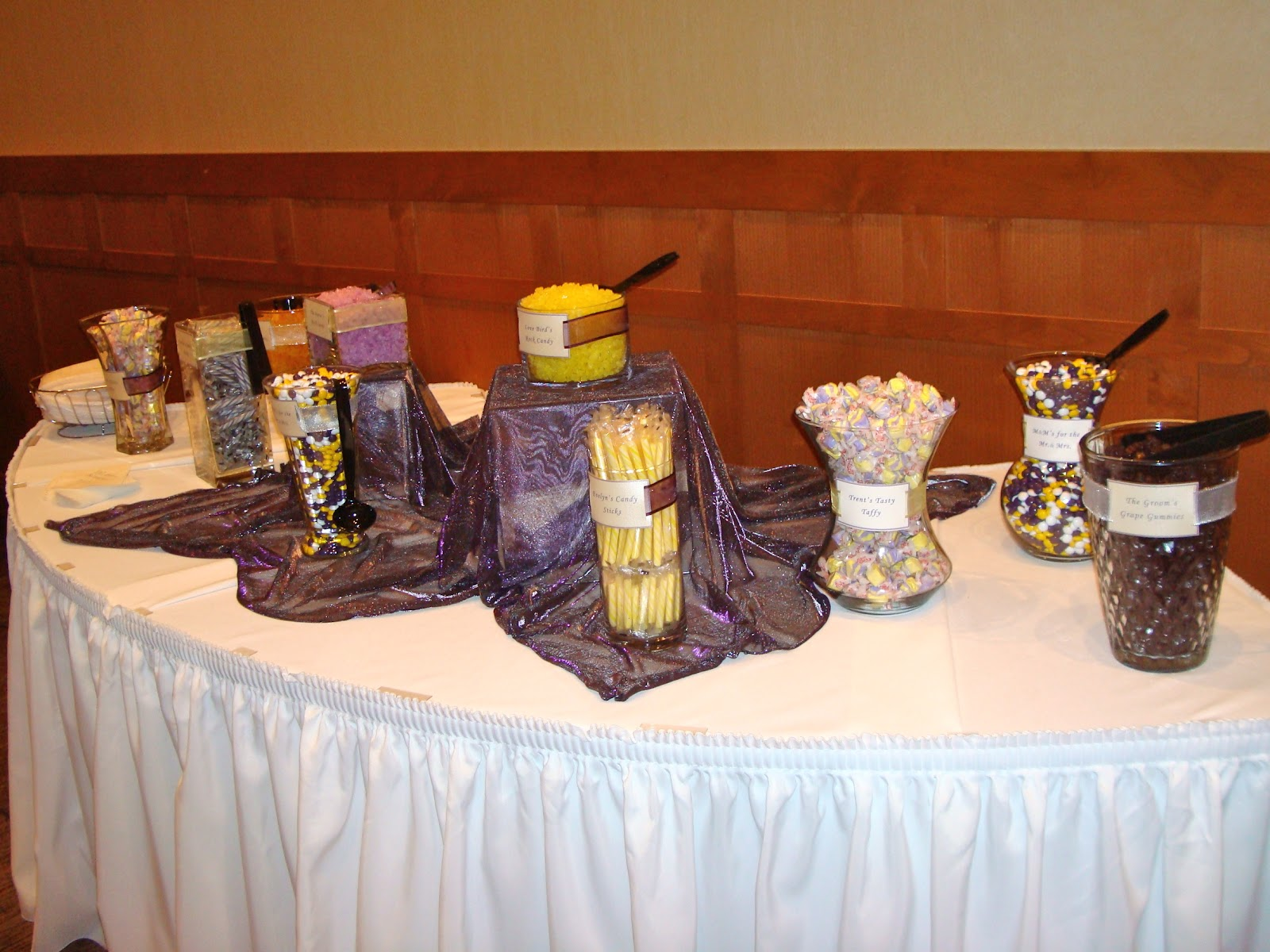 All my great ideas are really from pinterest wedding for Candy bar for weddings receptions