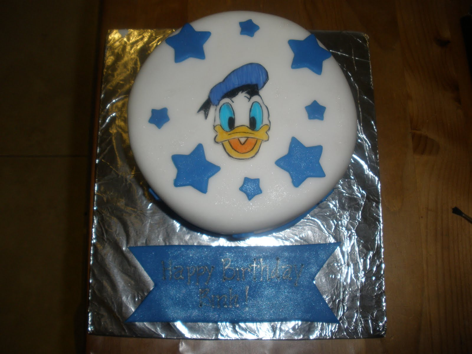 Cakes By Perla Donald Duck Cake