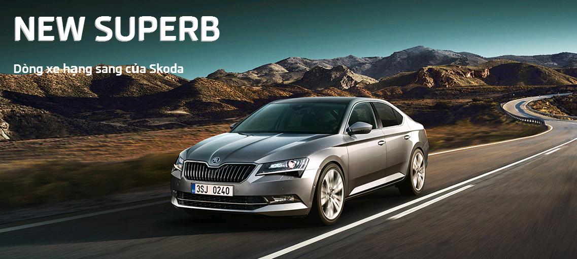 New SuperB - Chiếc sedan hạng sang của Skoda