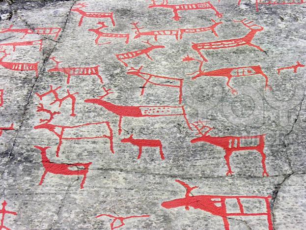 Ancient Rock art of Alta