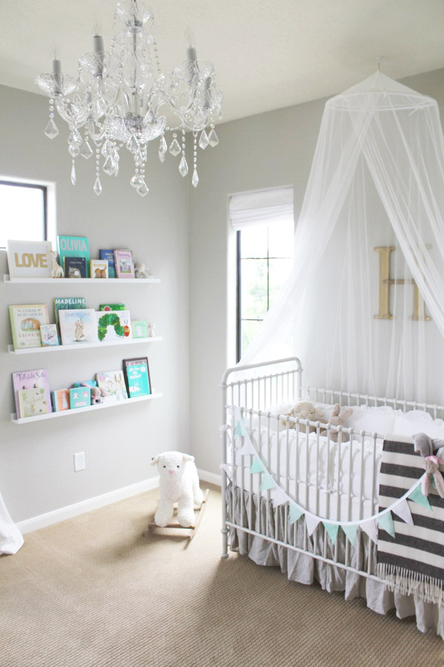 Chandelier for nursery at home and interior design ideas epic stop by to view her nursery reveal on veronika us blushing get ready to fawn aloadofball Choice Image