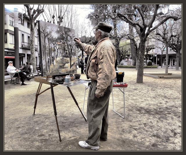 SANT HILARI SACALM-GIRONA-PINTURA-LA SELVA-FOTOS-PINTOR-ERNEST DESCALS-