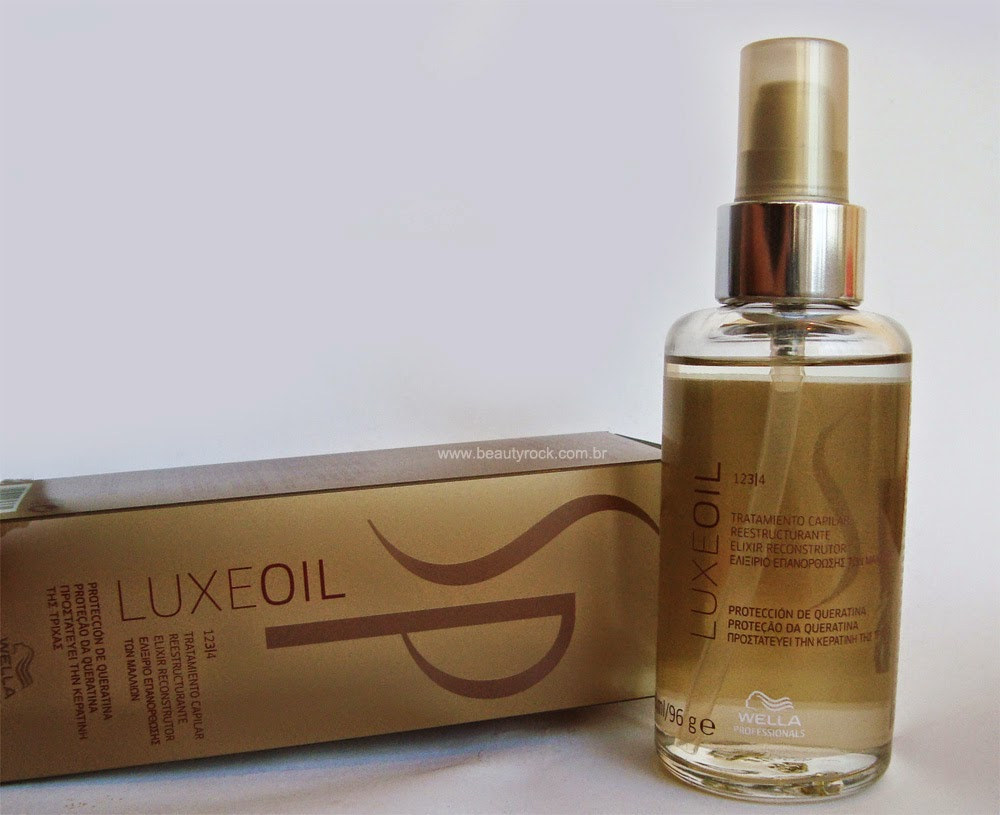 Resenha: Wella SP Luxe Oil - Elixir Reconstrutor