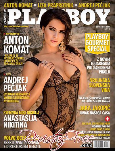Playboy Slovenia Dezembro 2014 - Anastasija Nikitina