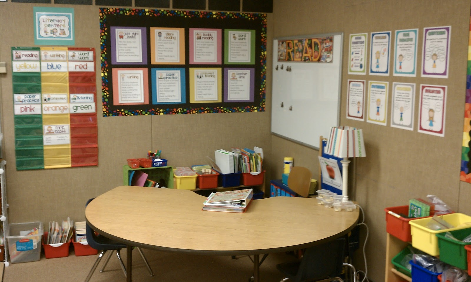 It's just a picture of Irresistible Printable Literacy Centers First Grade