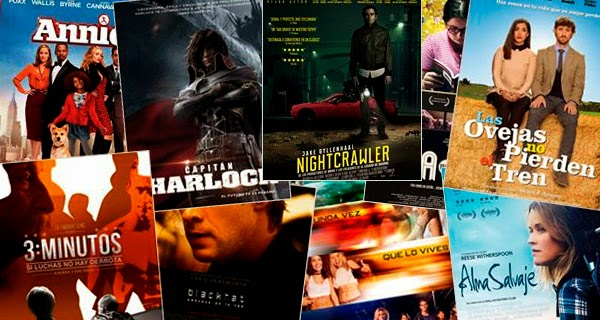 Estrenos de cine España 30-01-2015