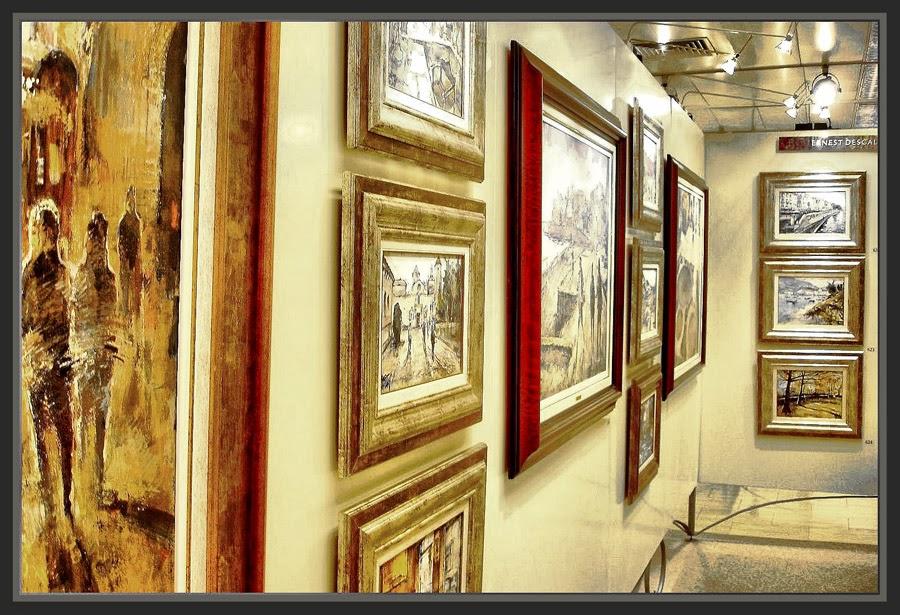 Ernest descals artista pintor exposicion de ernest - Cuadros para salon el corte ingles ...