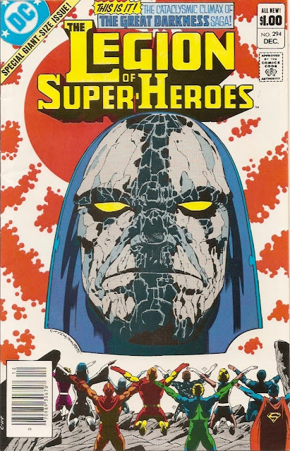 The Legion of Super-Heroes #294: The Great Darkness Saga | Bizarro