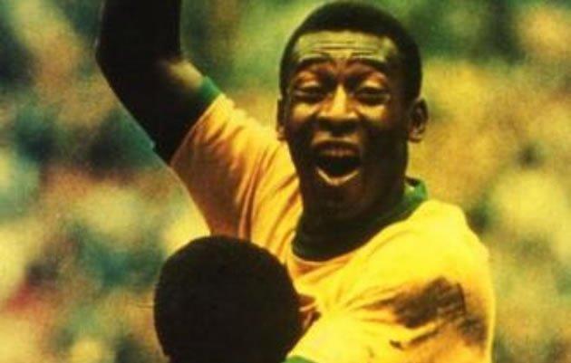 Pelé é o terceiro artilheiro da história do futebol