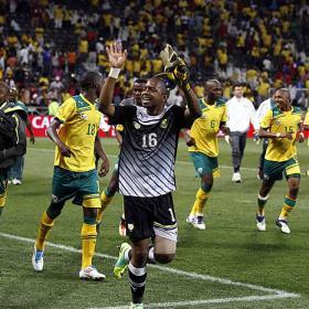 Sudáfrica celebró y Nigeria fue la que clasificó a la Copa Africana de Naciones 2012