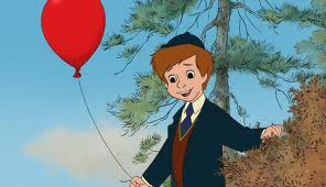 Christopher Robins balloon Winnie the Pooh 2011 Disney movie