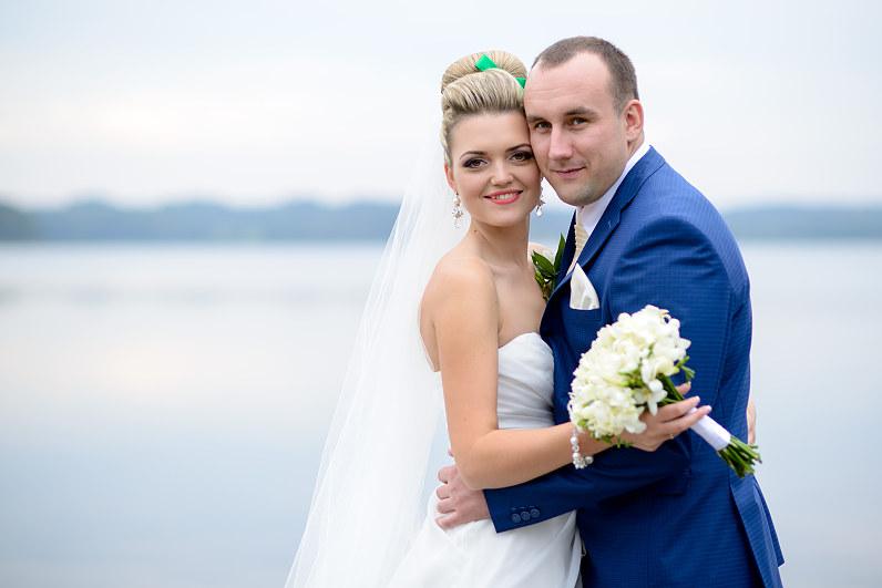 vestuvių fotosesija prie Zaraso ežero