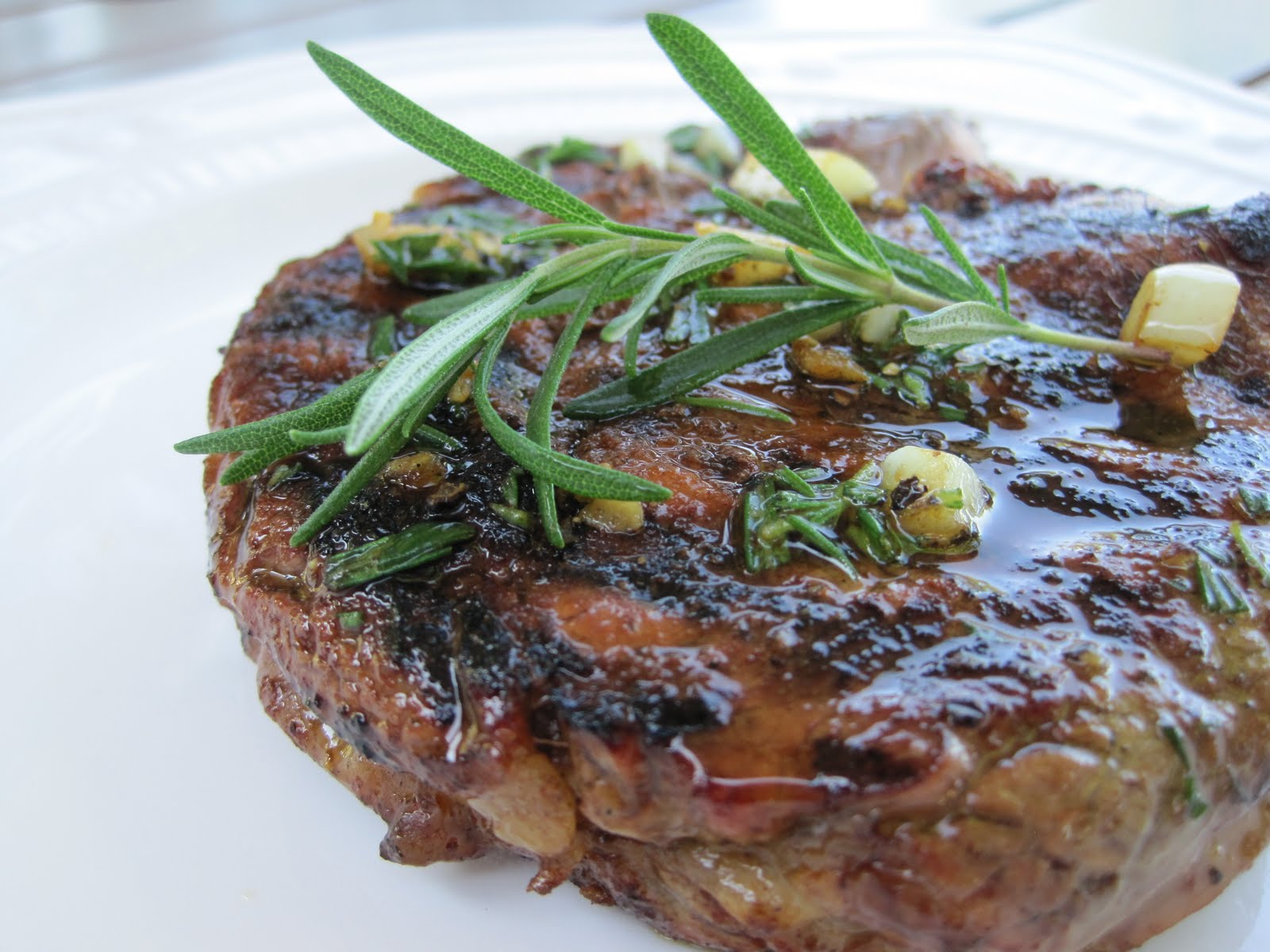 Rosemary Garlic Steak Recipe — Dishmaps