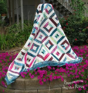 Petunia Strings quilt