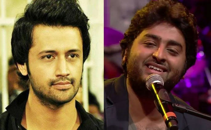 Arijit Singh Atif Aslam Gima Awards 2015 Hd Video Performance