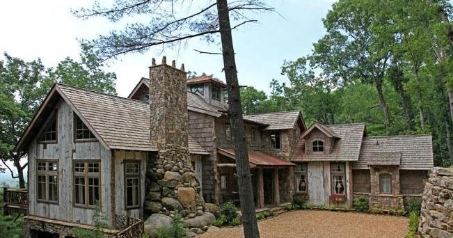 Fachadas de casas dise o casa de campo for Como disenar una casa de campo
