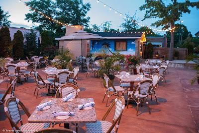 Durham NC outdoor dining