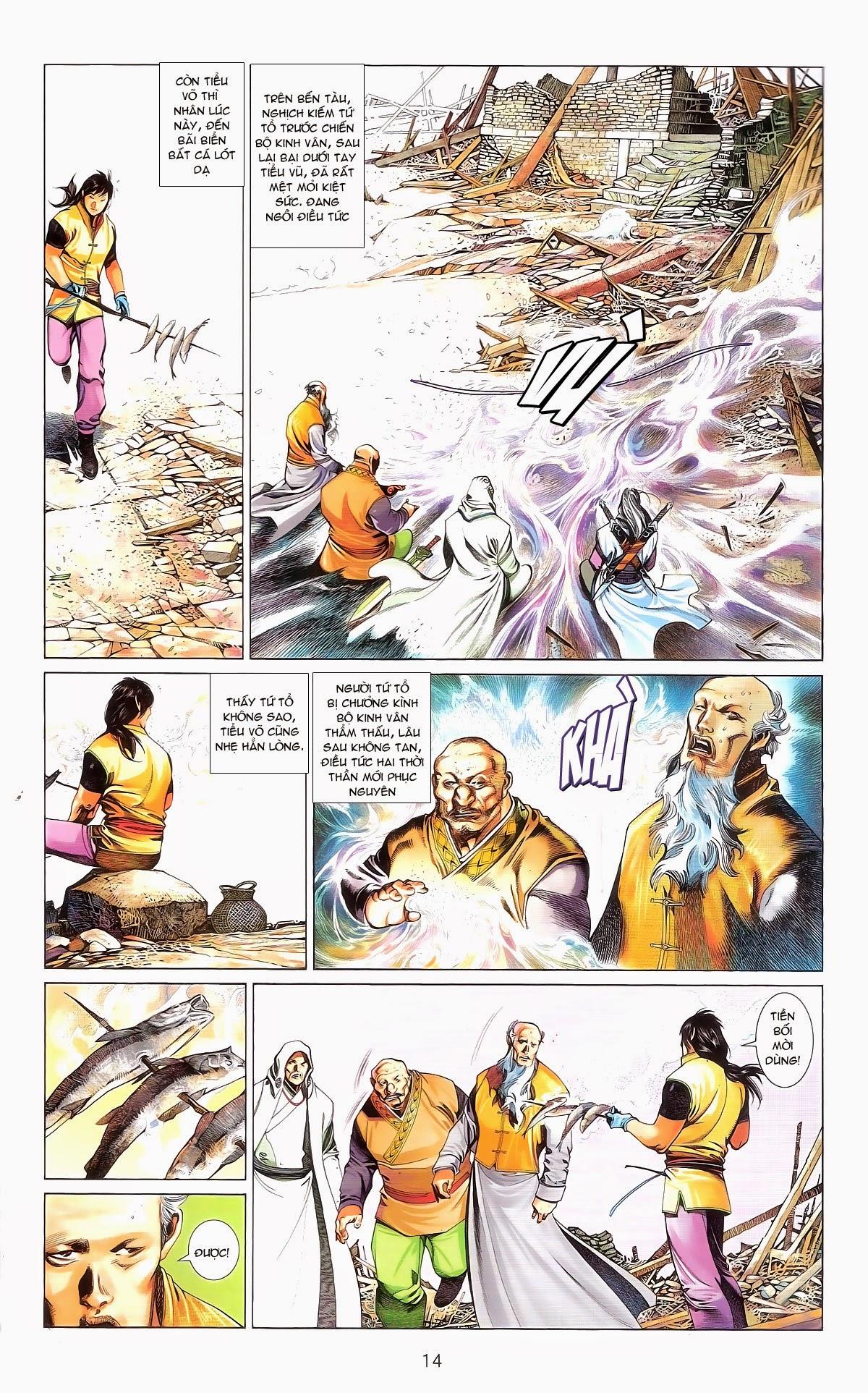 Phong Vân chap 674 – End Trang 16 - Mangak.info
