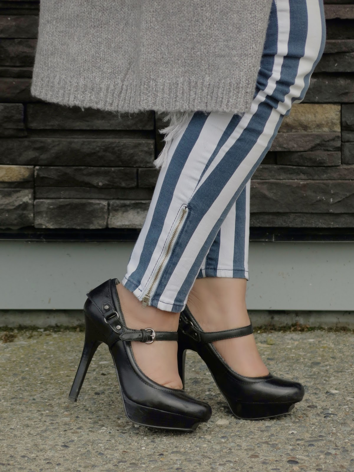 platform mary-jane shoes