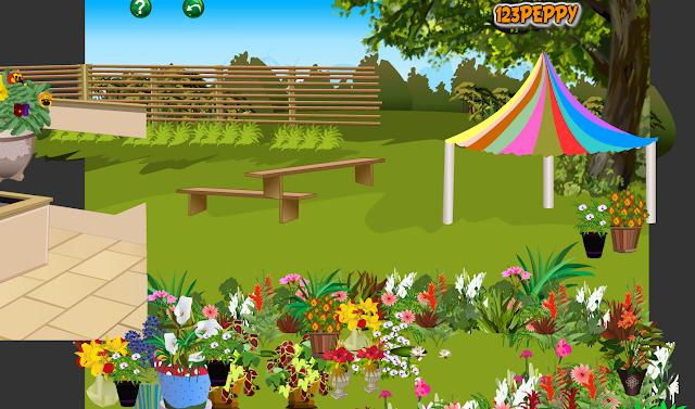 Juegos sencillos educacion especial arrastra los objetos para decorar el jard n for Juegos para jardin nios